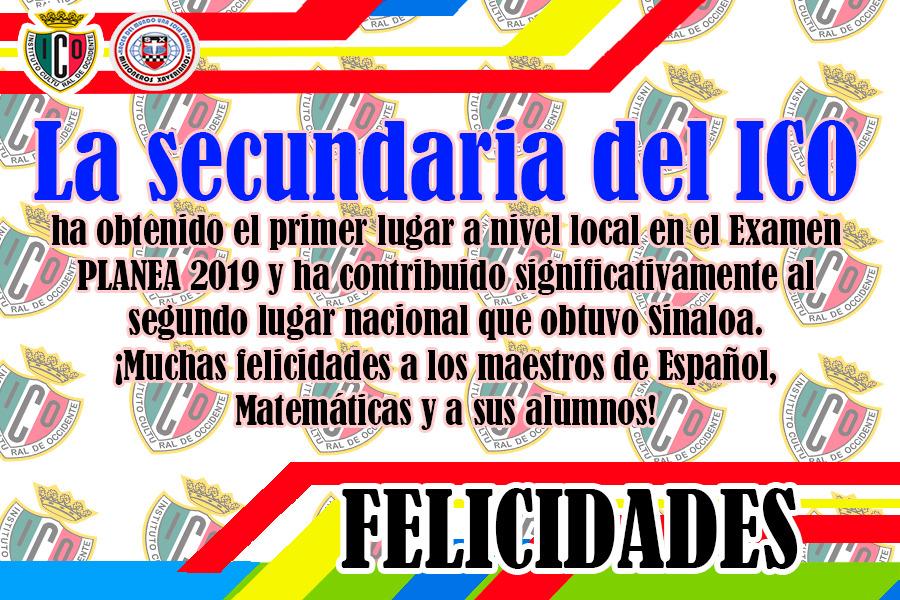 Felicitaciones por el reto superado de Secundaria!
